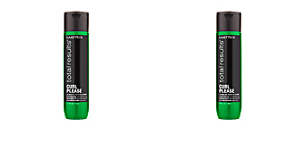 Anti frizz hair products TOTAL RESULTS CURL PLEASE conditioner Matrix
