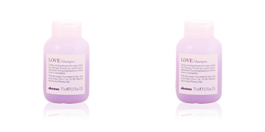 Davines ESSENTIAL MINI PRODUCTOS champú disciplinante love
