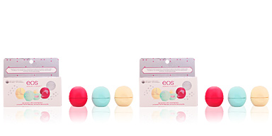 EOS LIP BALM HOLIDAY LOTE 3 pz Eos