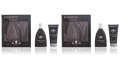 Posseidon POSEIDON THE BLACK FOR MEN ZESTAW perfum