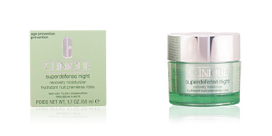SUPERDEFENSE NIGHT recovery moisturizer PNS Clinique