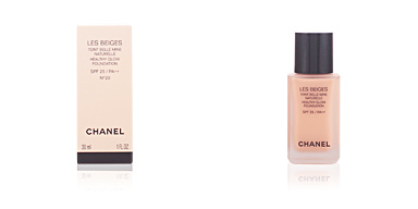 Foundation makeup LES BEIGES teint belle mine naturelle SPF25 Chanel