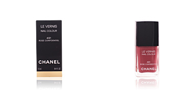 LE VERNIS #491-rose confidentiel 13 ml