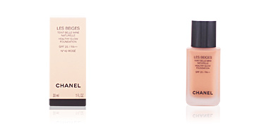 LES BEIGES teint belle mine naturelle SPF25 #42-rosé Chanel