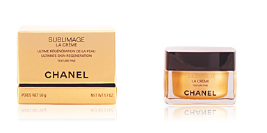 Anti aging cream & anti wrinkle treatment SUBLIMAGE la crème texture fine Chanel
