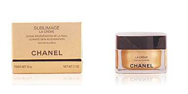 Anti aging cream & anti wrinkle treatment SUBLIMAGE crème texture suprême Chanel
