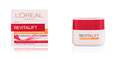 Anti aging cream & anti wrinkle treatment REVITALIFT crema de día anti-arrugas SPF30 L'Oréal París