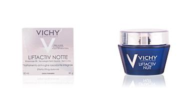 Skin tightening & firming cream  LIFTACTIV NUIT soin anti-rides et fermeté intégral Vichy