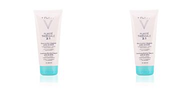 Removedor de maquiagem PURETÉ THERMALE 3en1 démaquillant integral peaux sensible Vichy