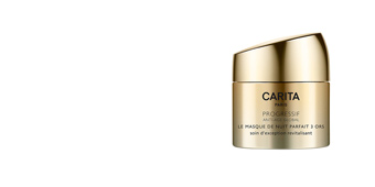 Tratamento para flacidez do rosto PROGRESSIF ANTI-AGE GLOBAL le masque de nuit 3 ors Carita