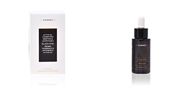 Tratamiento Facial Reafirmante BLACK PINE firming nourishing & antiwrinkle active oil Korres