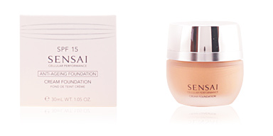 SENSAI CP cream foundation SPF15 #CF24-amber beige Kanebo