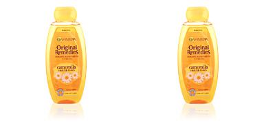 Garnier ORIGINAL REMEDIES champú camomila y miel de flores 400 ml