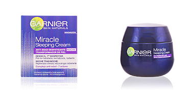 Cremas Antiarrugas y Antiedad MIRACLE sleeping cream anti-edad noche Garnier