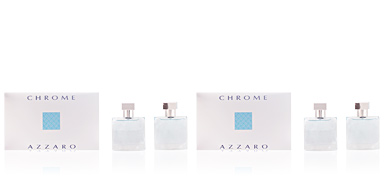 Azzaro CHROME SET 2 pz