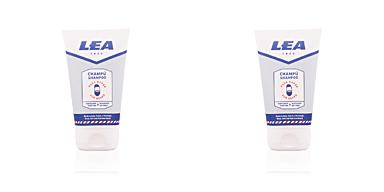 Produtos para barba BARBA champú purificante y suavizante Lea
