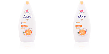 GO FRESH mandarin & tiare flower body wash Dove