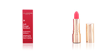 Lipsticks JOLI ROUGE BRILLANT hydratation brillance Clarins