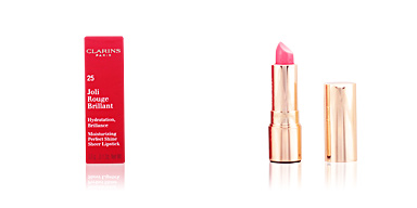 JOLI ROUGE BRILLANT #25-rose blossom Clarins