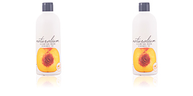 Shower gel PEACH bath and shower gel Naturalium