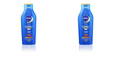 Corporales SUN PROTEGE & HIDRATA leche SPF50+ Nivea