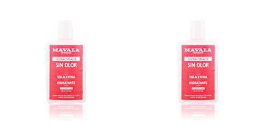 NAIL POLISH REMOVER acetone free Mavala