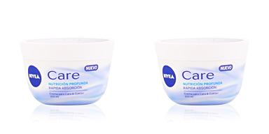 Body moisturiser CARE nutrición profunda crema para cara & cuerpo Nivea