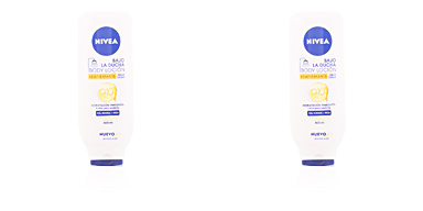 Body moisturiser BAJO LA DUCHA loción Q-10 piel normal a seca Nivea