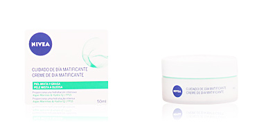 Matifying Treatment Cream AQUA EFFECT cuidado de día matificante SPF15 Nivea