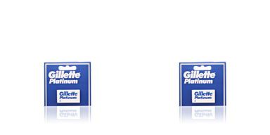 Lames de rasoir PLATINUM recambios Gillette