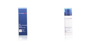 Face moisturizer MEN gel super hydratant Clarins