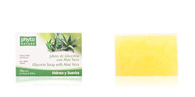 Facial cleanser PHYTO NATURE pastilla jabón aloe vera Luxana