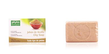 Facial cleanser PHYTO NATURE pastilla jabón arcilla Luxana