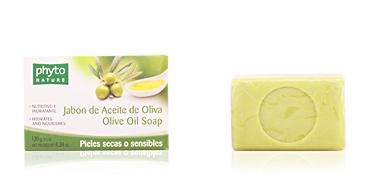 Facial cleanser PHYTO NATURE pastilla jabón aceite de oliva Luxana