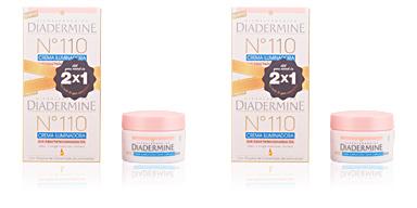 Diadermine Nº 110 CREMA ILUMINADORA antiedad DIA LOTE 2 pz