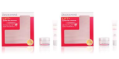 Diadermine LIFT + SUPER RELLENADOR crème de nuit COFFRET 2 pz