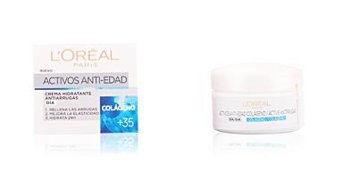 Anti aging cream & anti wrinkle treatment ACTIVOS ANTI-EDAD crema hidratante antiarrugas L'Oréal París