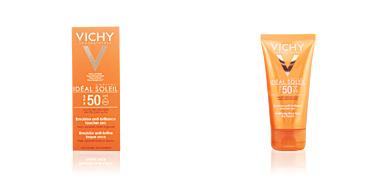 Faciais IDÉAL SOLEIL emulsion anti-brillance toucher sec SPF50 Vichy