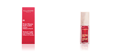 Clarins ECLAT MINUTE huile confort lèvres #03-red berry