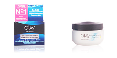 Cremas Antiarrugas y Antiedad ANTI-EDAD hidratación instantánea crema de día Olay