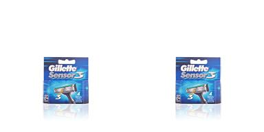 SENSOR3 cargador 4 recambios Gillette