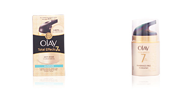 Olay TOTAL EFFECTS anti-edad hidratante sin perfume 50 ml