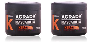 Agrado MASCARILLA con keratina 500 ml