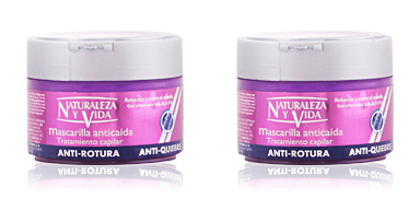 Naturaleza Y Vida MASCARILLA ANTICAÍDA Traitement capilar antirotura 300 ml