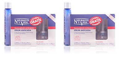 Naturaleza Y Vida SERUM ANTICAIDA LOTTO 2 pz