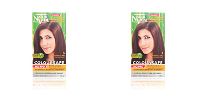 COLOURSAFE tinte permanente #5-castaño claro 150 ml Naturaleza Y Vida