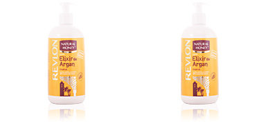 ELIXIR DE ARGAN loción corporal dispenser Natural Honey
