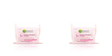 Make-up remover SKIN NATURALS AGUA MICELAR toallitas desmaquillantes Garnier