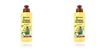 Tratamiento antiencrespamiento ORIGINAL REMEDIES crema sin aclarado aguacate & karite Garnier