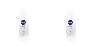 PURE INVISIBLE 48H 0% deo roll-on 50 ml Nivea